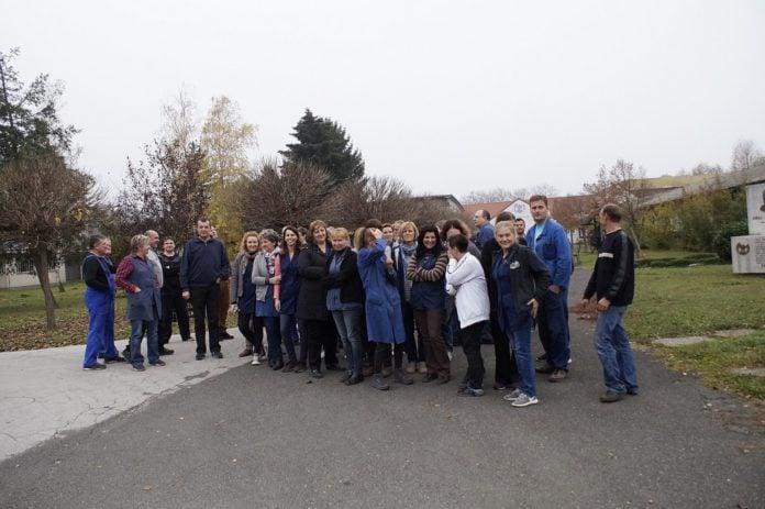 Okupljanje radnika Zrinski