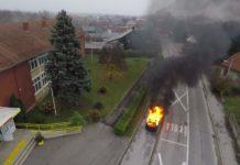 vatrogasna vježba Vatrogasna zajednica Čakovca OŠ Strahoninec