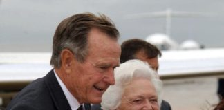 George H. W. Bush i supruga Barbara