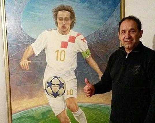 Luka Modric i Drazen Ladic