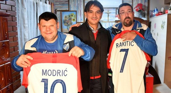 Nikola i Marko Hančić Zlatko Dalić2