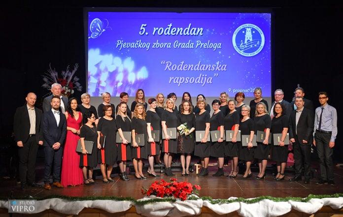 Pjevački zbor Grada Preloga Preloga peti rođendan2