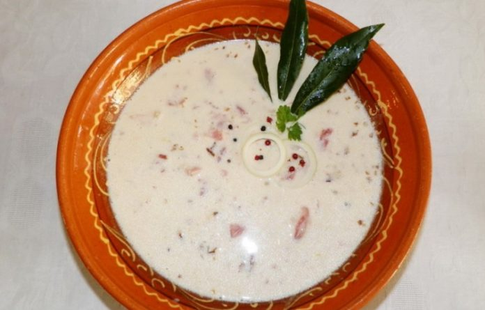Pretepena juha z hajdinskom kašom