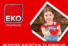 eko međimurje donacije rezultati