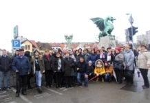 Udruga žena Štefanec Advent u Ljubljani1