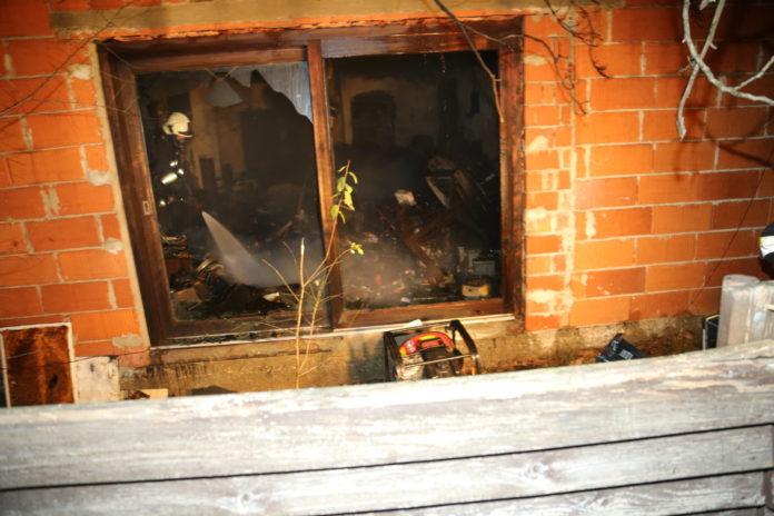 Unutrašnjost kuće u kojoj je pronađen mrtav muškarac u Čakovcu