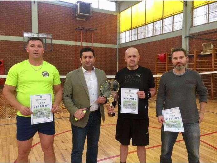 turnir badminton policija