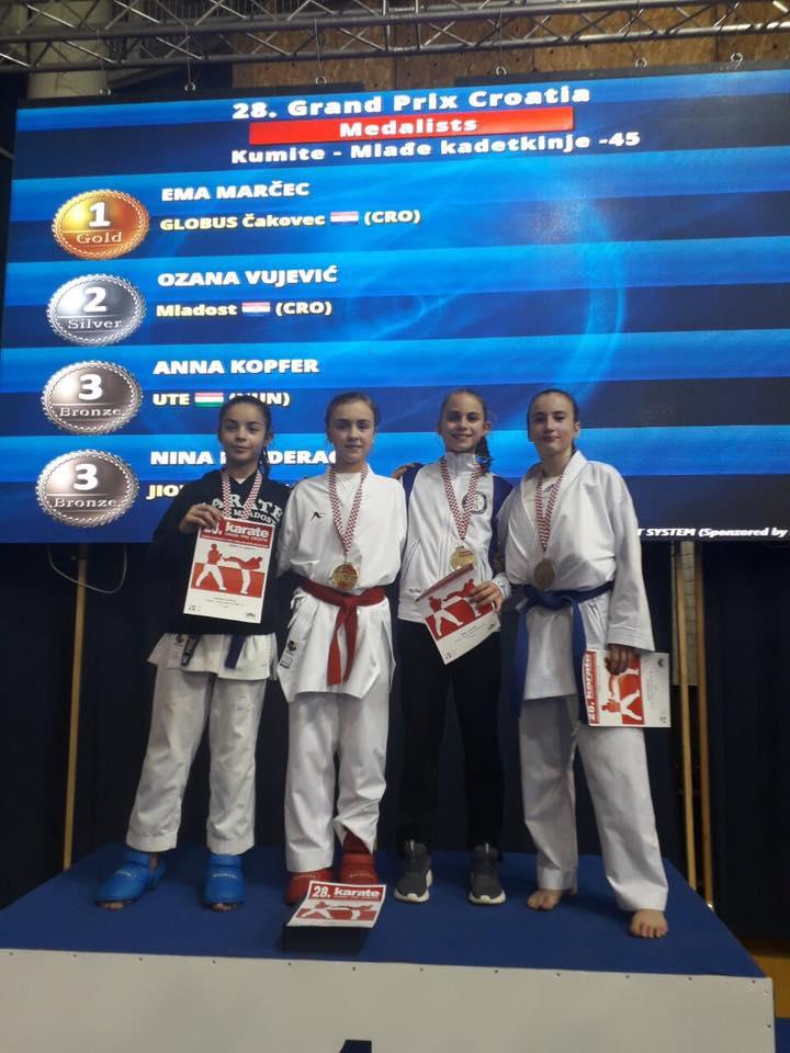 Globusovci s Grand Prix Croatia donijeli devet medalja!