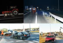 Prometne nesreće tijekom vikenda