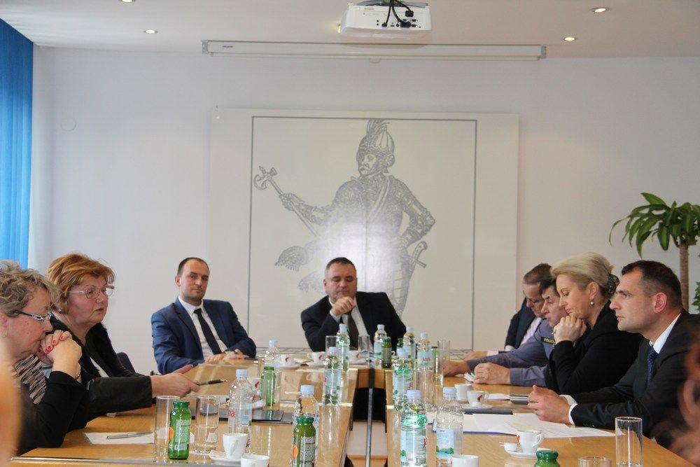 Župan i ministrica Murganić
