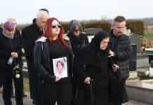 Jasmina Dominić pogreb