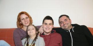 Erik Vrbanec sa svojom obitelji