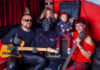 Pankerski bend: Vedran Pehara, Laura Filipaj, Kristijan Vuković i Davorka Dragojević