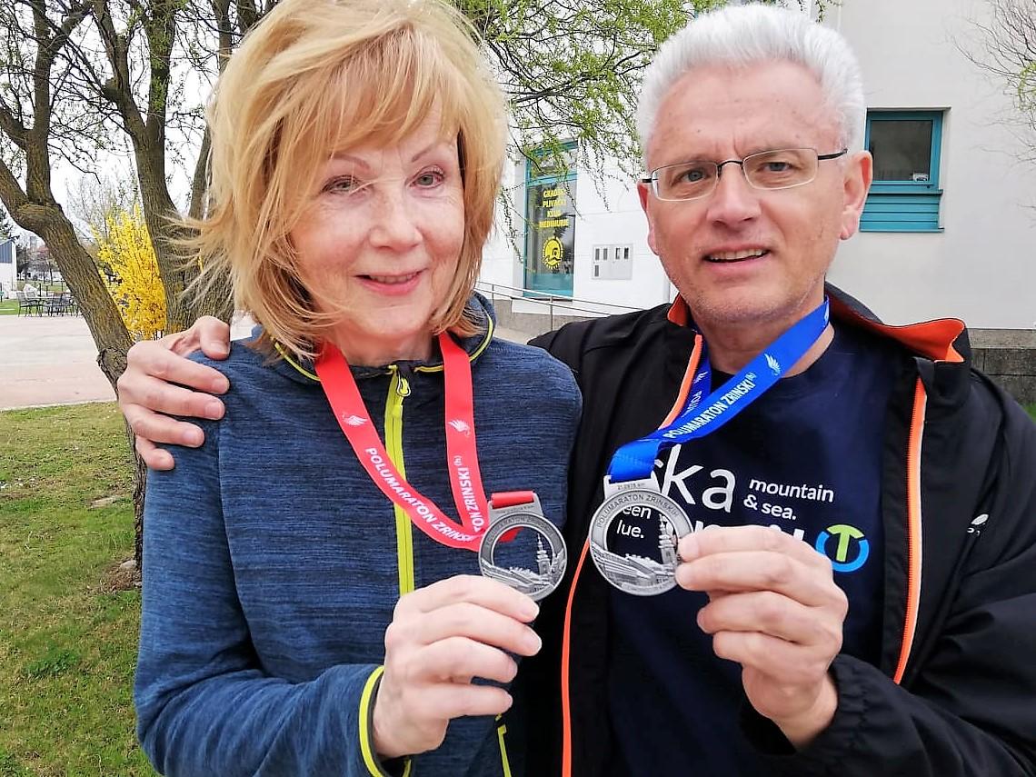 Medalje za 2019 - Polumaraton Zrinskih