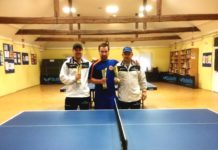 Najbolja trojka turnira - Marko Kedmenec, Matej Šlibar i Dragan Šajn