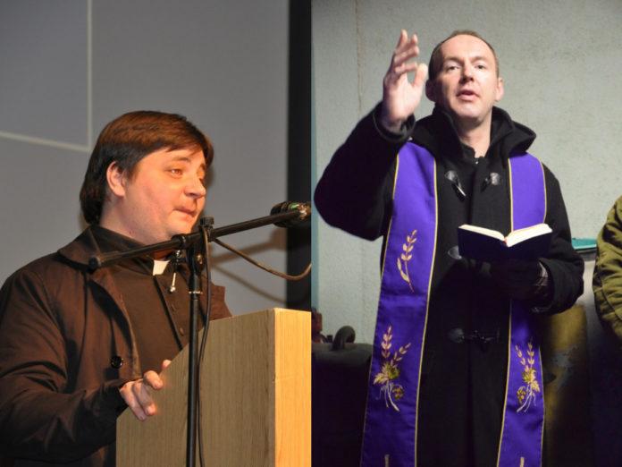 Na lijevoj fotografiji Marinko Prstec, na desnoj Ivan Kljunić