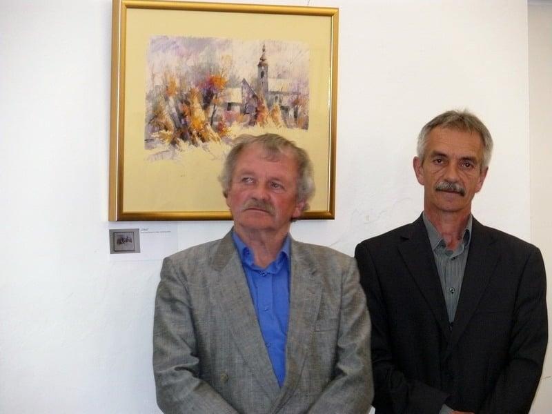 Franjo Ružman Brko i Zdravko Repalust