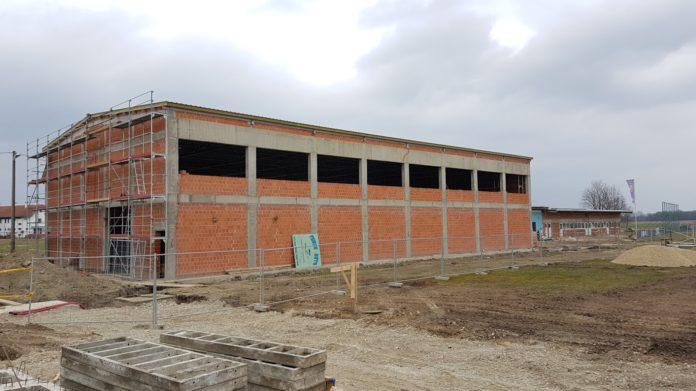 NK Dinamo Domašinec u izgradnji