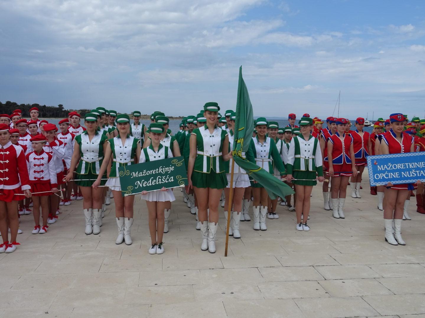 Mažoretkinje Nedelišća trostruke viceprvakinje Hrvatske