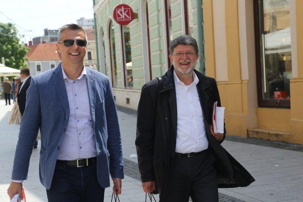 Stjepan Kovač i Tonino Picula