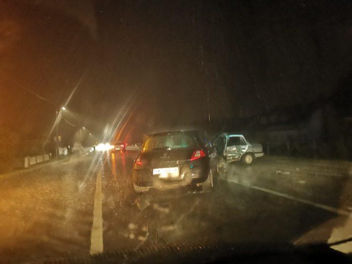 Prizor s mjesta prometne nesreće u Pušćinama