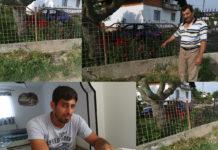 Mjesto nesreće u Kuršancu