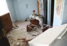 Silina udarca probila je zid obiteljske kuće