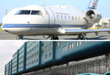 vladin zrakoplov KB C Dubrava