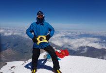 Igor Rodiger na vrhu Elbrusa (2)