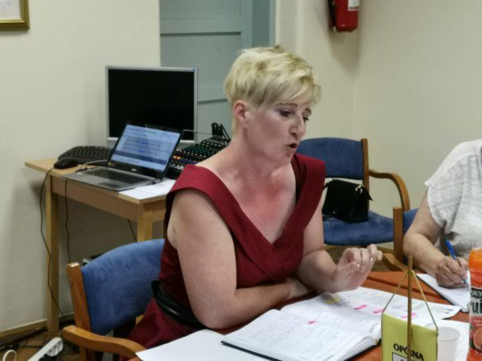 Mirjana Murk, predsjednica OV Podturen