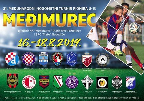 Plakat turnira U-13 Međimurec 2019