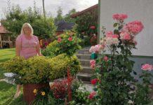 Vesna Vizinger u svojem malom raju