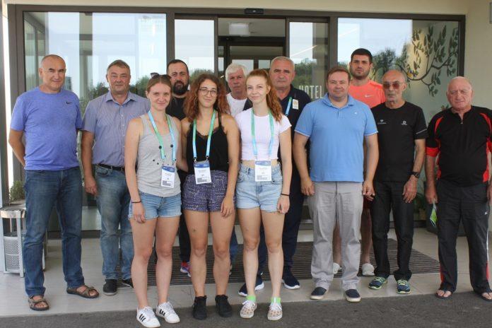 Atletska reprezentacija Gruzije u Čakovcu