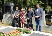 Izaslanstvo HNS-a na posljednjem počivalištu Savke Dabčević-Kučar