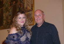 sopranistica Evelin Novak i maestro Branimir Magdalenić