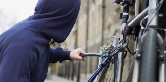 Ilustracija, krađa bicikla
