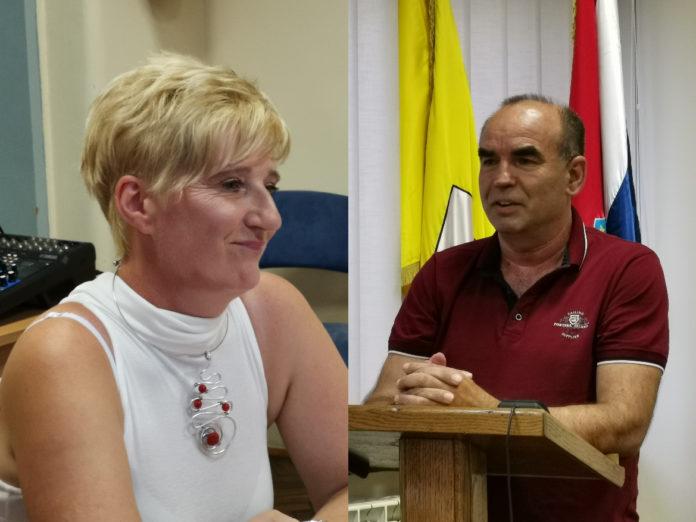 Mirjana Murk, Vladimir Križaić