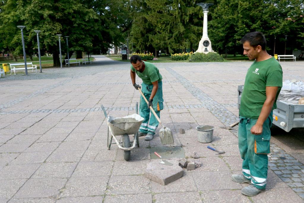ČAKOVEC se konačno čisti od Porcijunkulova: Umjesto novih ploča, beton?