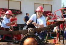 Natjecanje starim vatrogasnim špricama u Svetoj Mariji