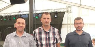 Ravnopravni pobjednici natječaja: Marko Kedmenec, Nikola Tomašić i Silvo Benč