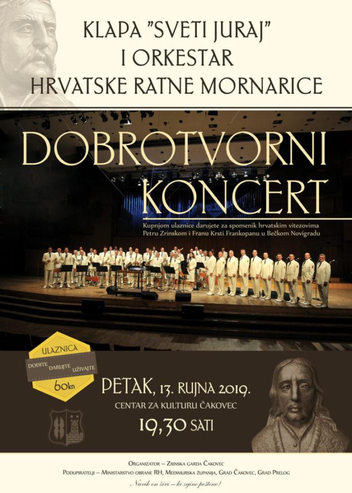 Plakat koncert Klape i Orkestra HRM