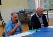 Predsjednik i tajnik MSTS-a Dražen Korent i Franjo Flac