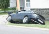 Mjesto nesreće u Belici gdje se i dalje nalazi automobil