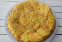 tortilja krumpir