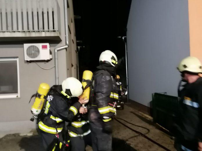 požar u sauni