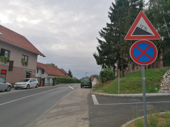 znak zabrane parkiranja