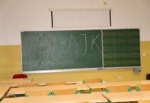 štrajk učitelja