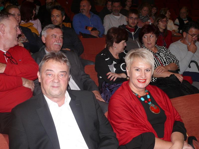 U publici Zoran Vidović i Sandra Herman