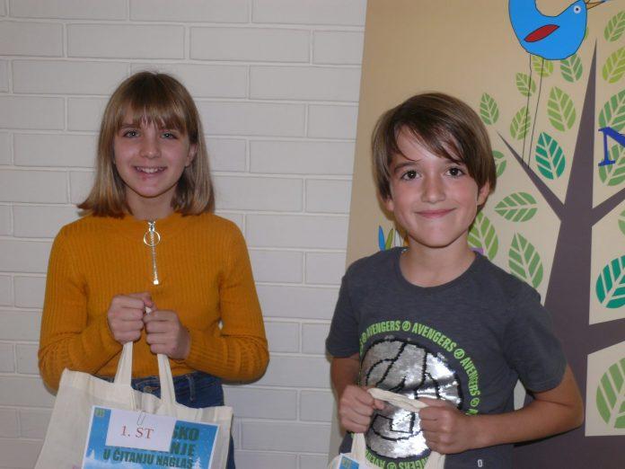 Laura Filipić i Matija Švenda natjecanje čitanje naglas (10)
