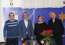 Fra Tomislav Božiček, Stjepan Kovač, Boška Ban Vlahek i fra Željko Železnjak